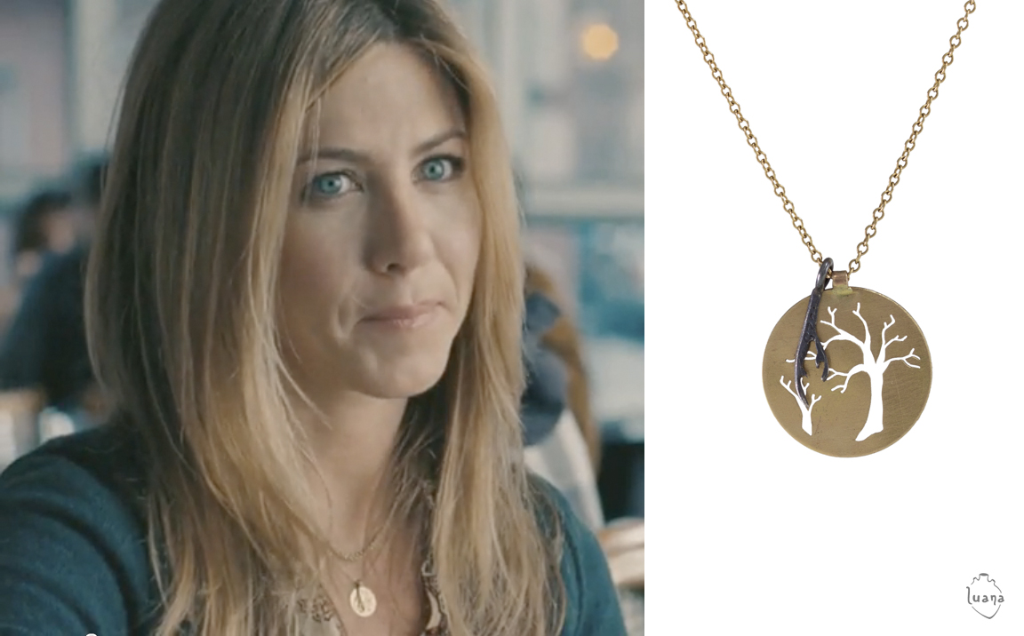 """Jennifer Aniston wearing """"Mini Tree & Branch Necklace"""" in the 2010 film  The Switch"""
