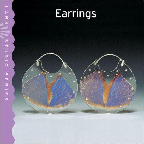 """Book Cover, """"Morpho Encasements"""" chosen as cover of   Lark Studio Series: Earrings"""