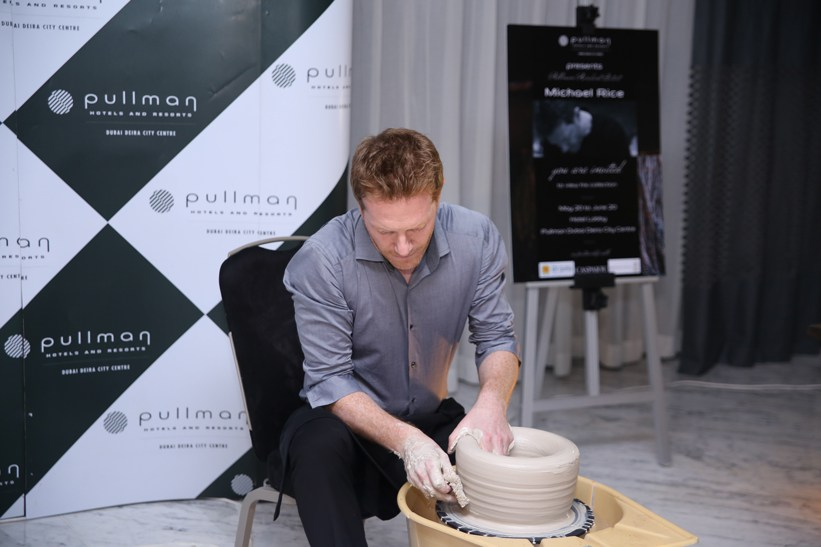 Residency at the Pullman Hotel, Dubai 2014