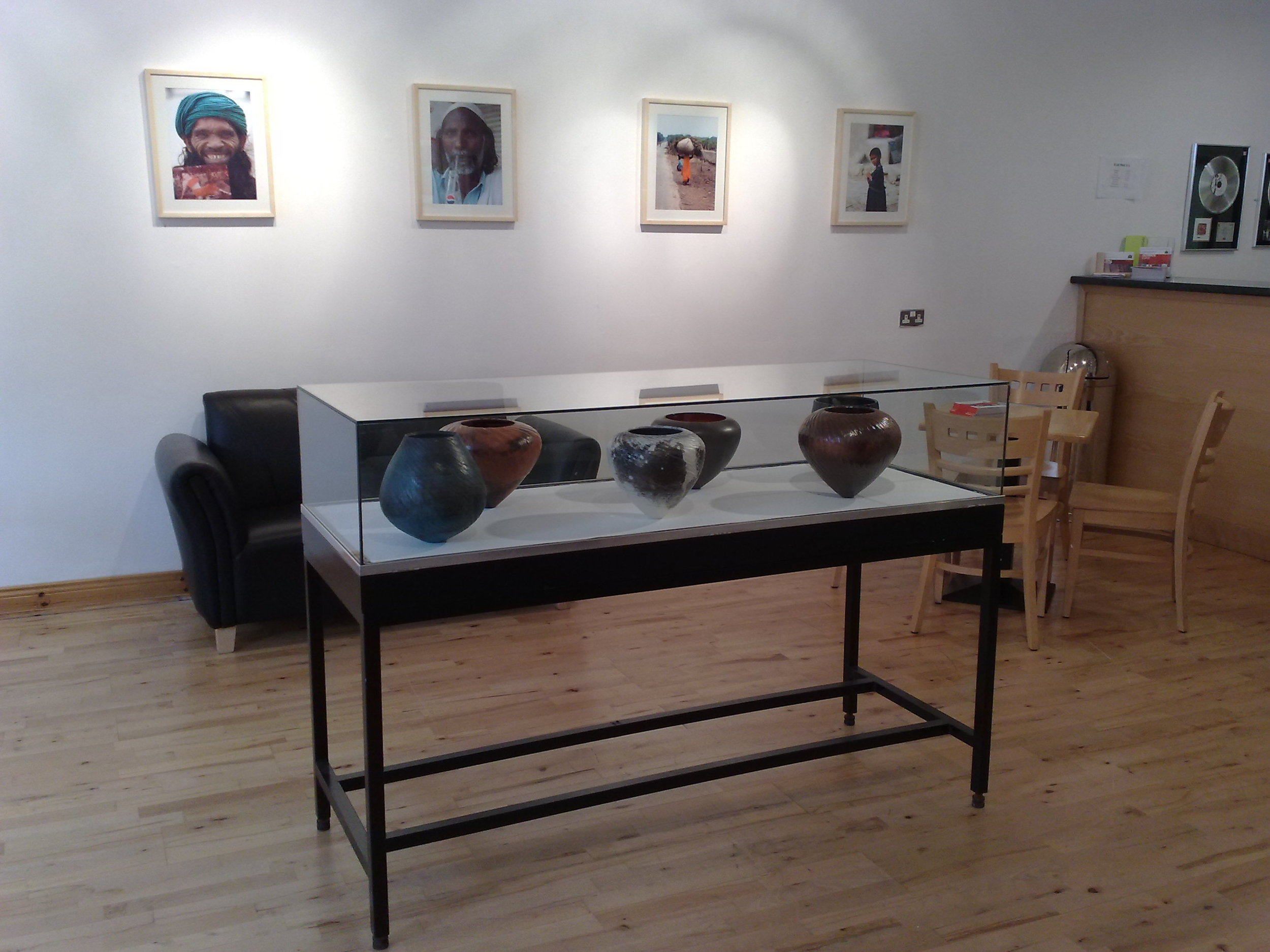 Works on display in Down Arts Center, Downpatrick