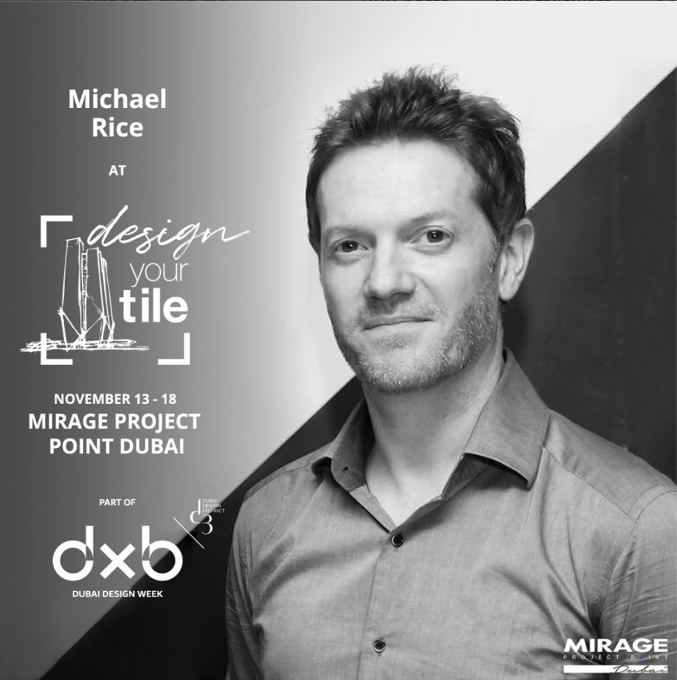 One of several designers asked to be involved in the @mirageprojectpointdubai design your tile initiative for @dubaidesignweek 2017