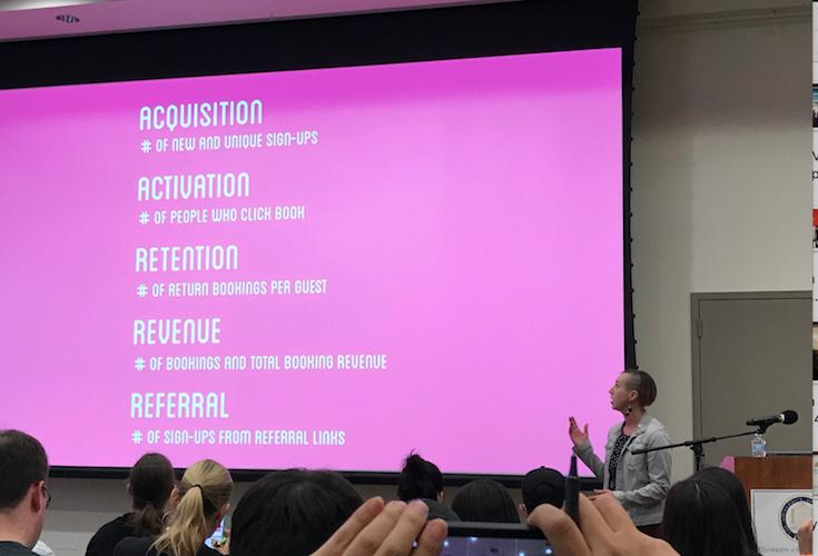 Lex Roman talking about metrics
