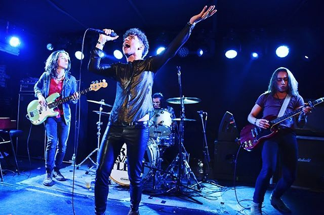@gretavanfleet are our #featuredartists for December!  Get their EP #fromthefires with new tracks just released last month. [www.riffslinger.com]  #gretavanfleet #highwaytune #newmusic #video #guitar #riffslinger #pictureoftheday #photooftheday