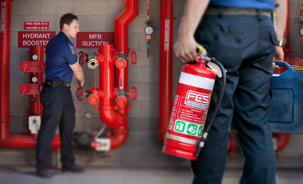 FES  - Fire Equipment Services.