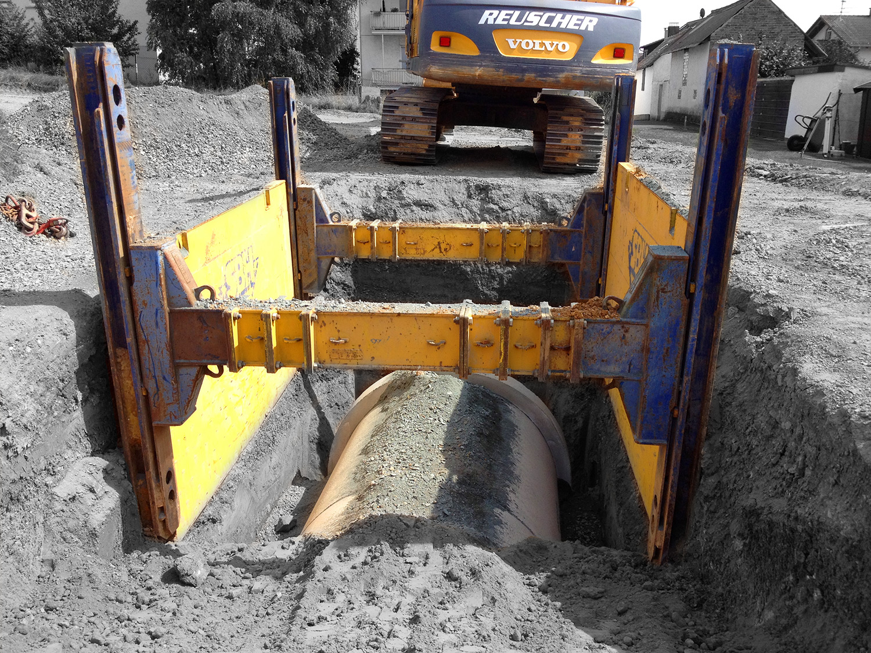 Kanalbau – Ingenieurbau