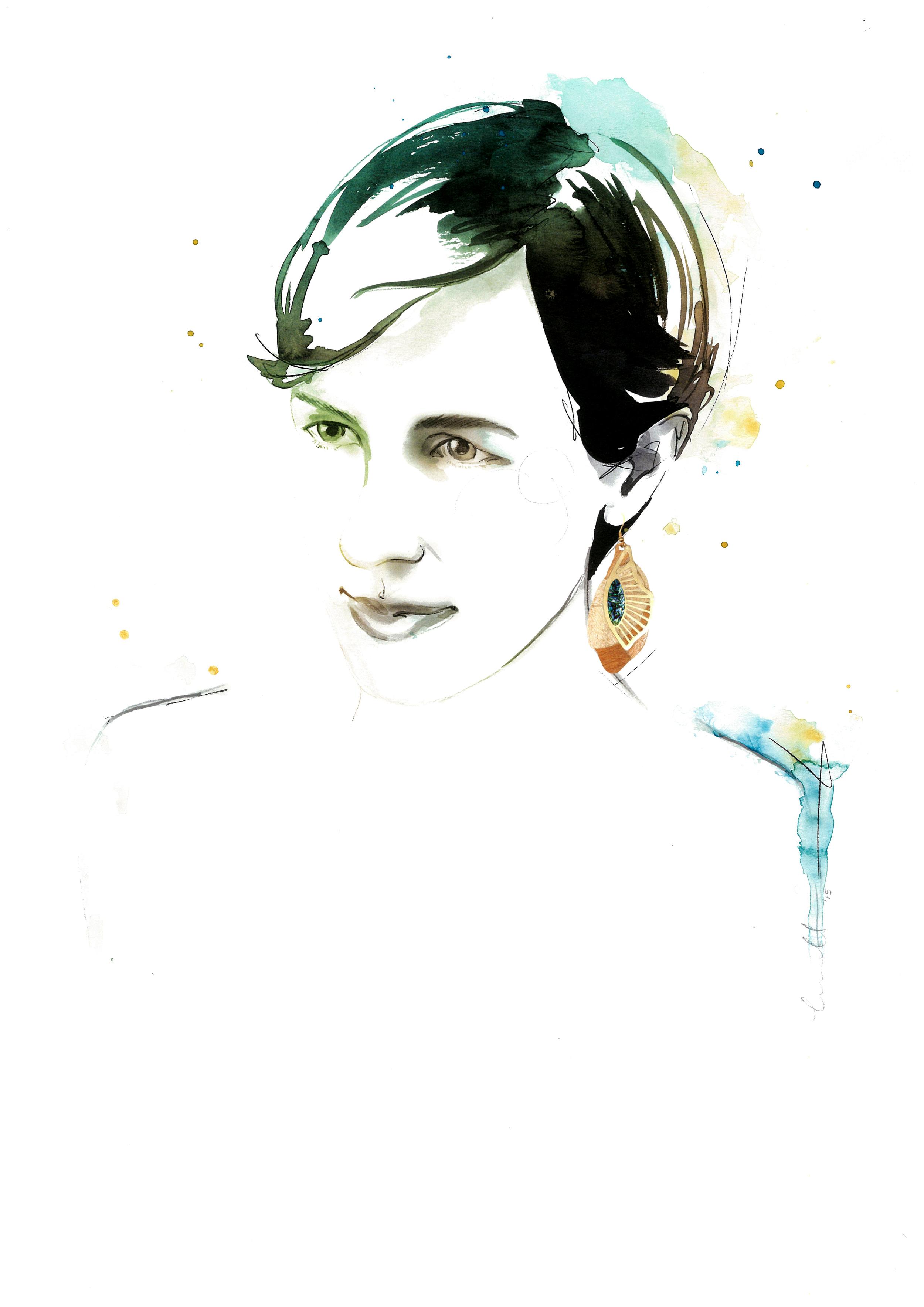 Mimi Brown portrait