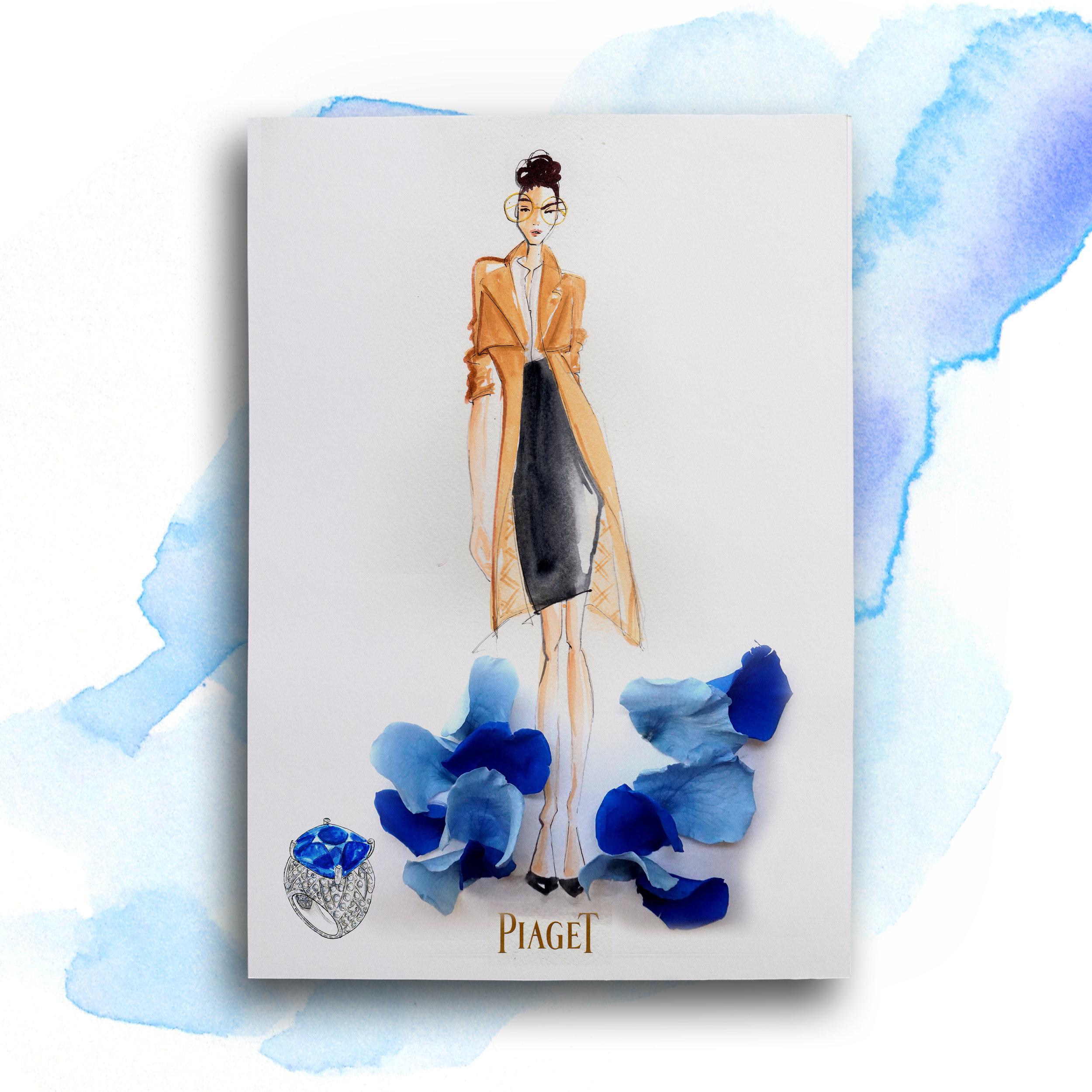 Tanya Pirate Hong Kong fashion illustrator