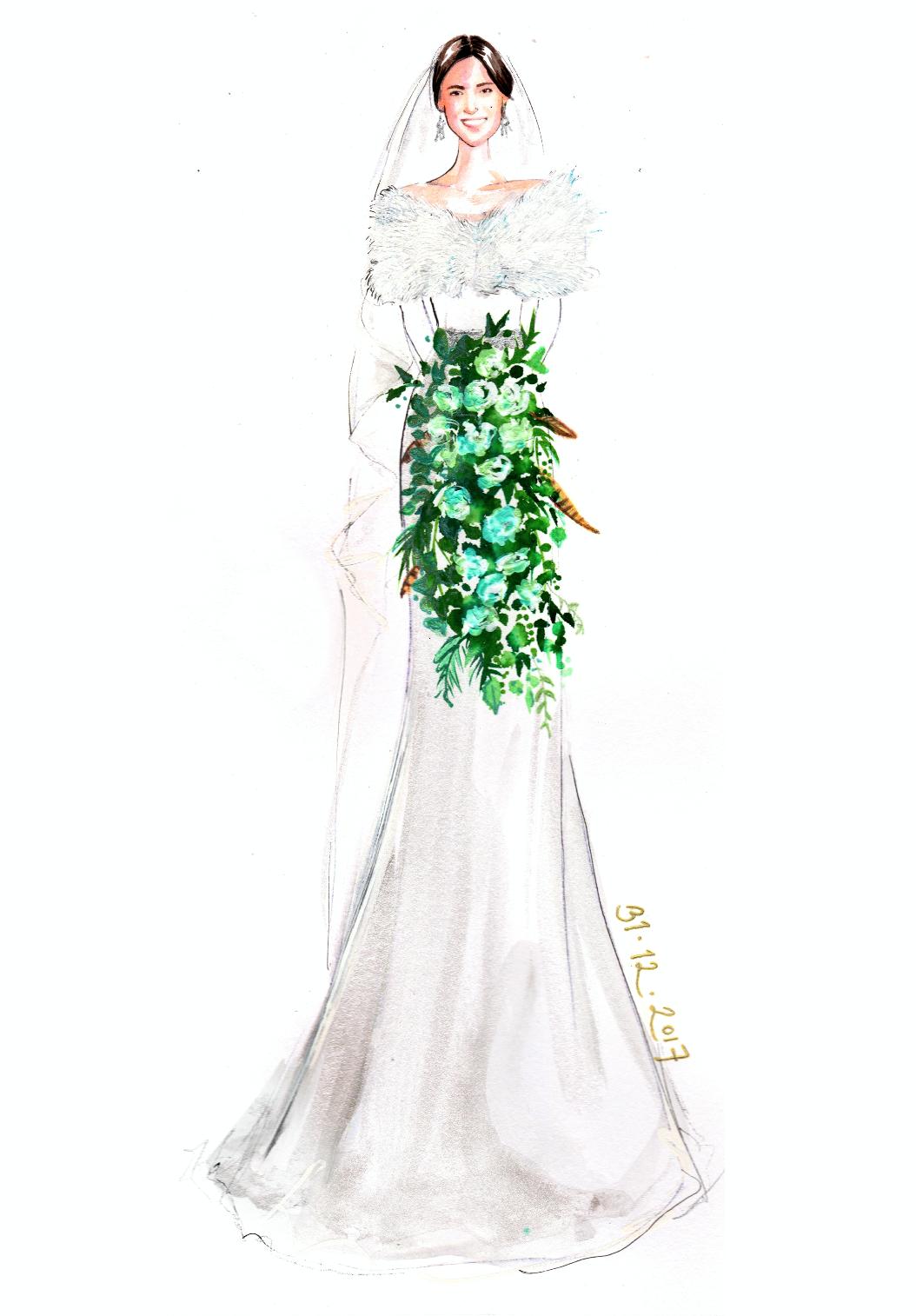 Tanya hong kong fashion illustrator