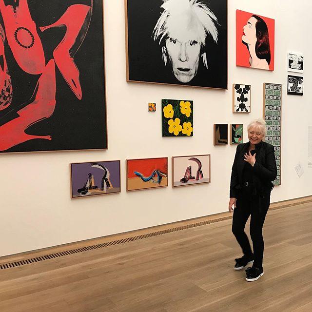 For Ever Young, Brandhorst Museum, München #foreveryoung #münchen #exhibition #andywarhol #brandhorstmuseum #sunday #contemporaryart #galerienielaba #artgallery #germany #beautifulday