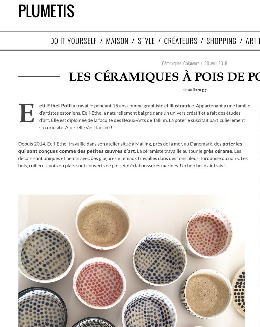 Polli Pots plumetis magazine.png