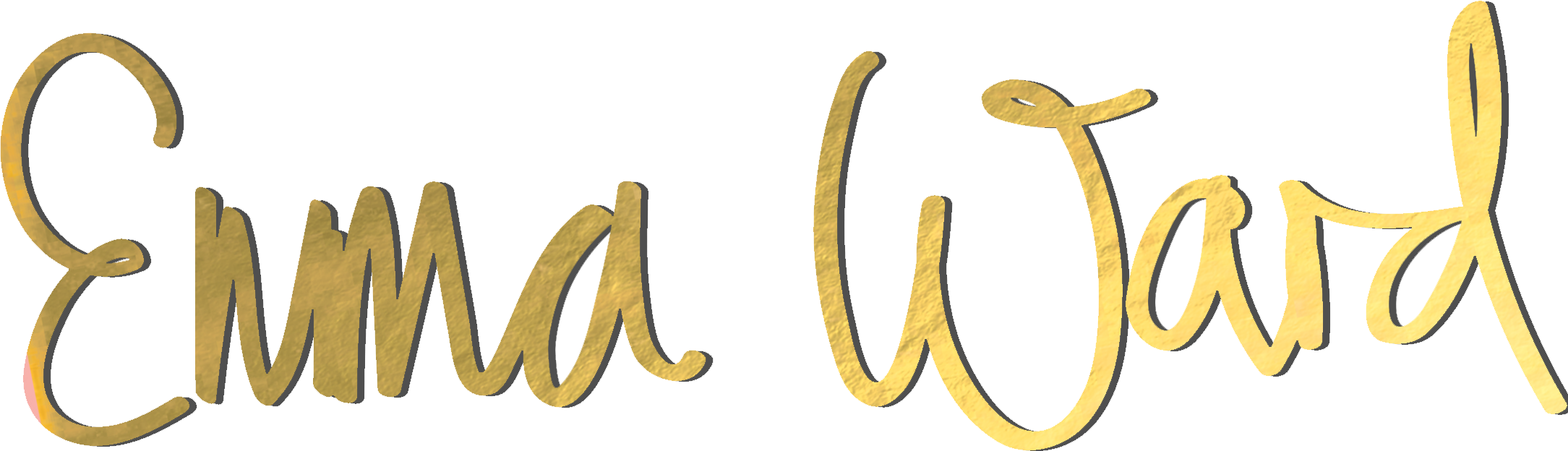 Emma Logo Name only - shadow - gold.png