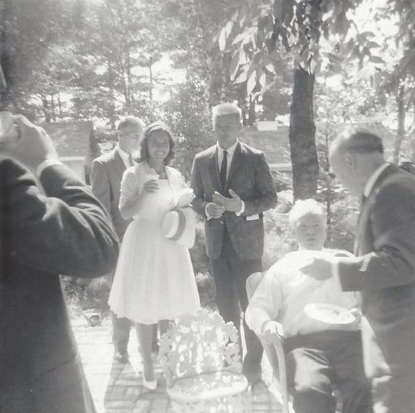 1961 Wedding Reception
