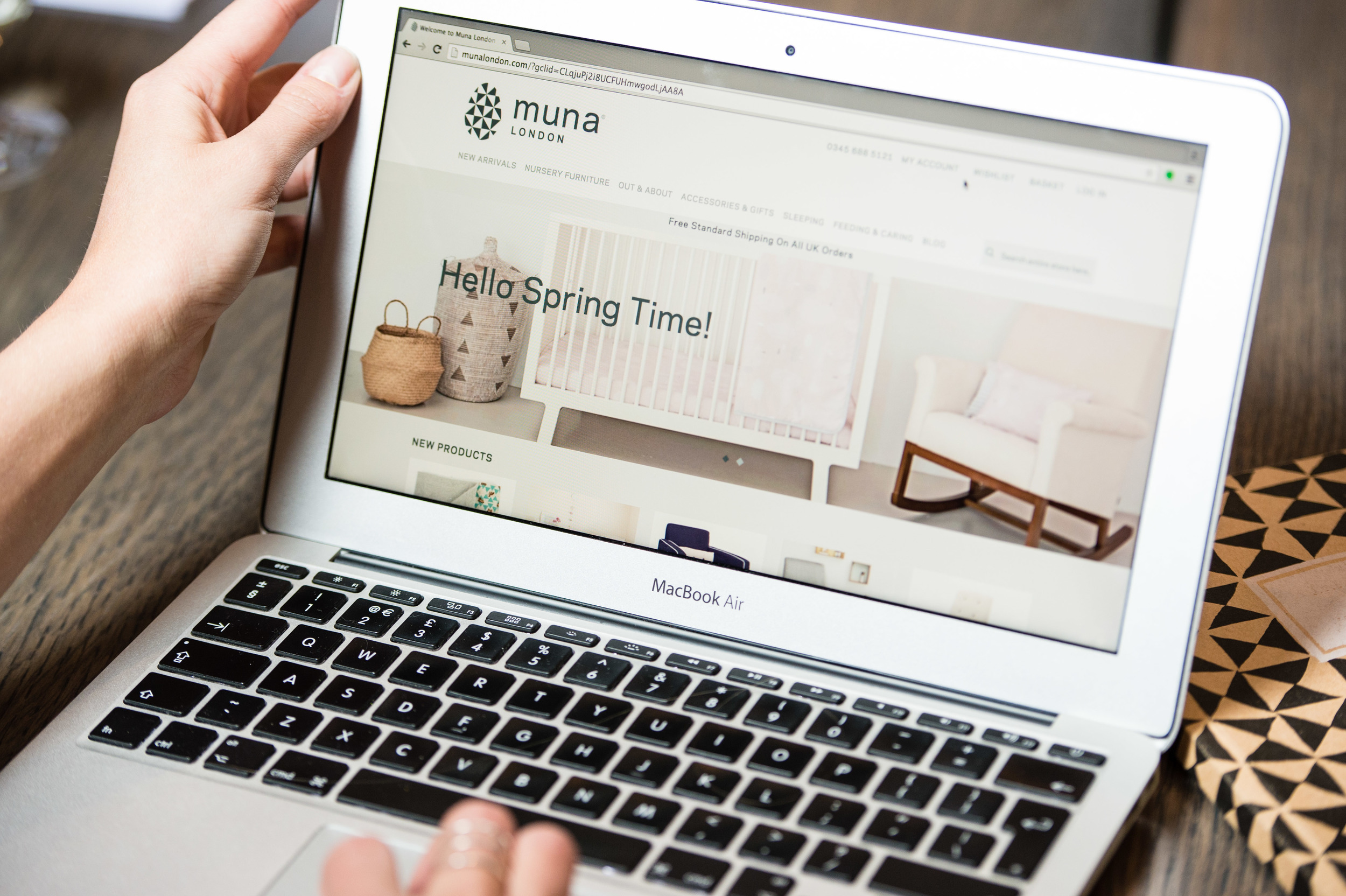 Discover how we helped Muna's featured products sell out online in two days      View the case study