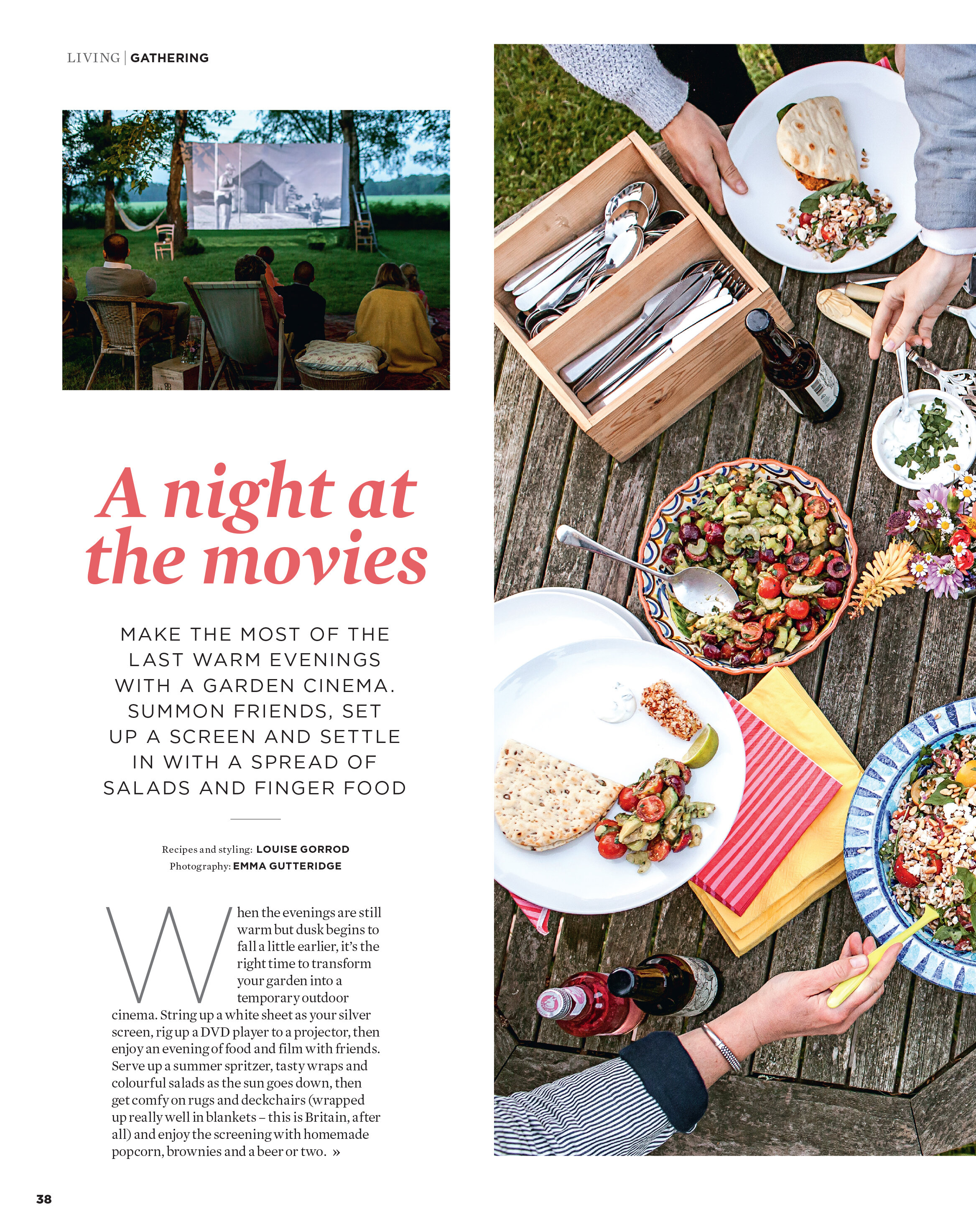 The Simple Things A Night at the Movies Gathering -