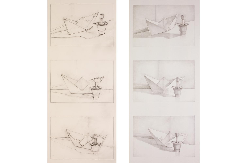 Paper Boat 3 Views