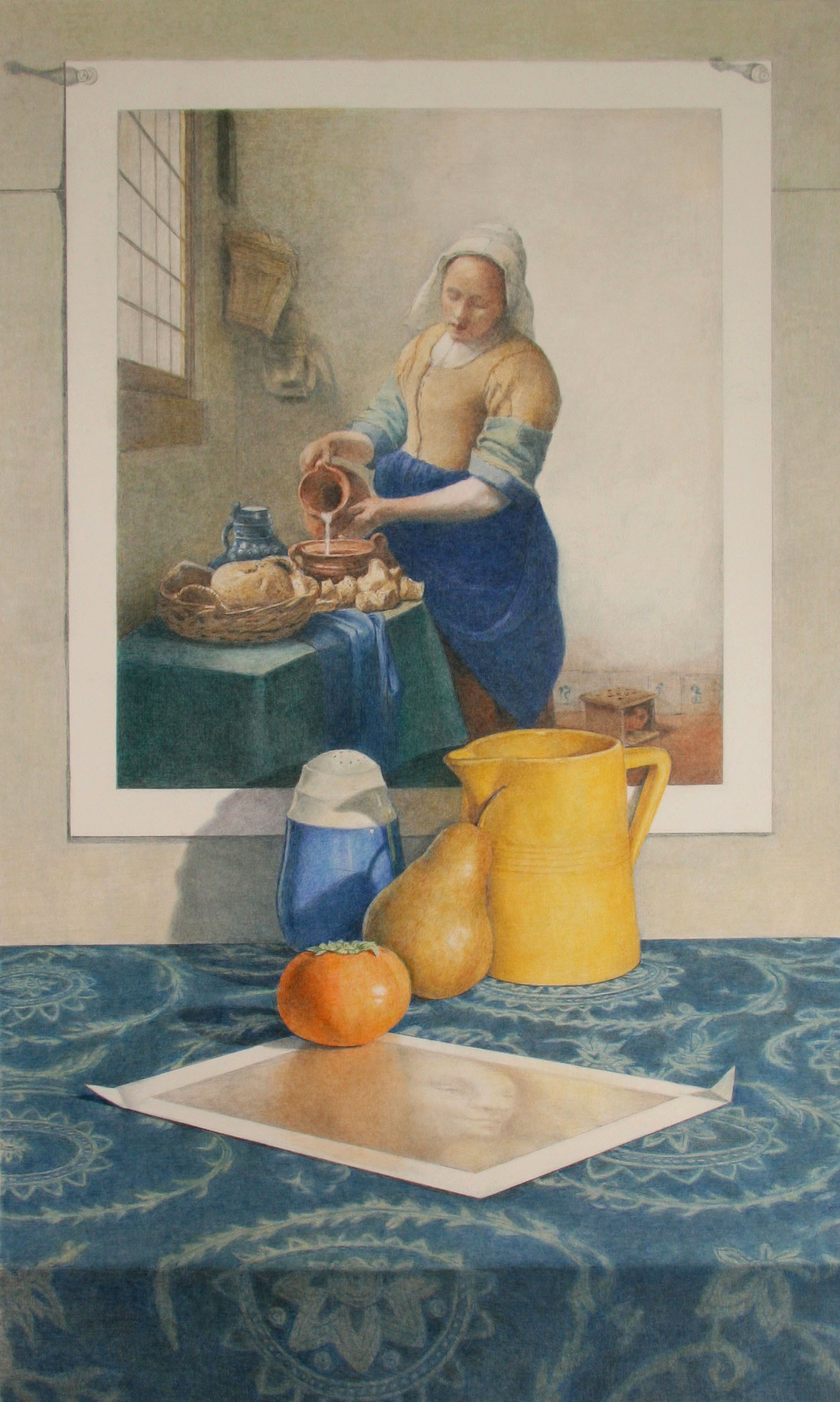Vermeer with Yellow Pitcher