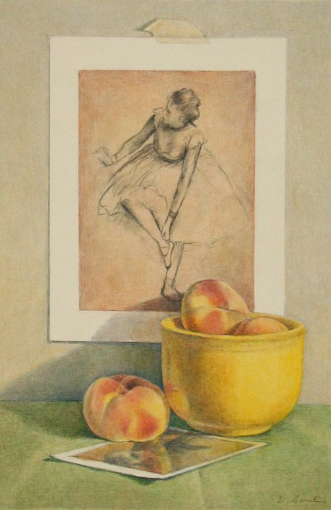 Degas with Peaches
