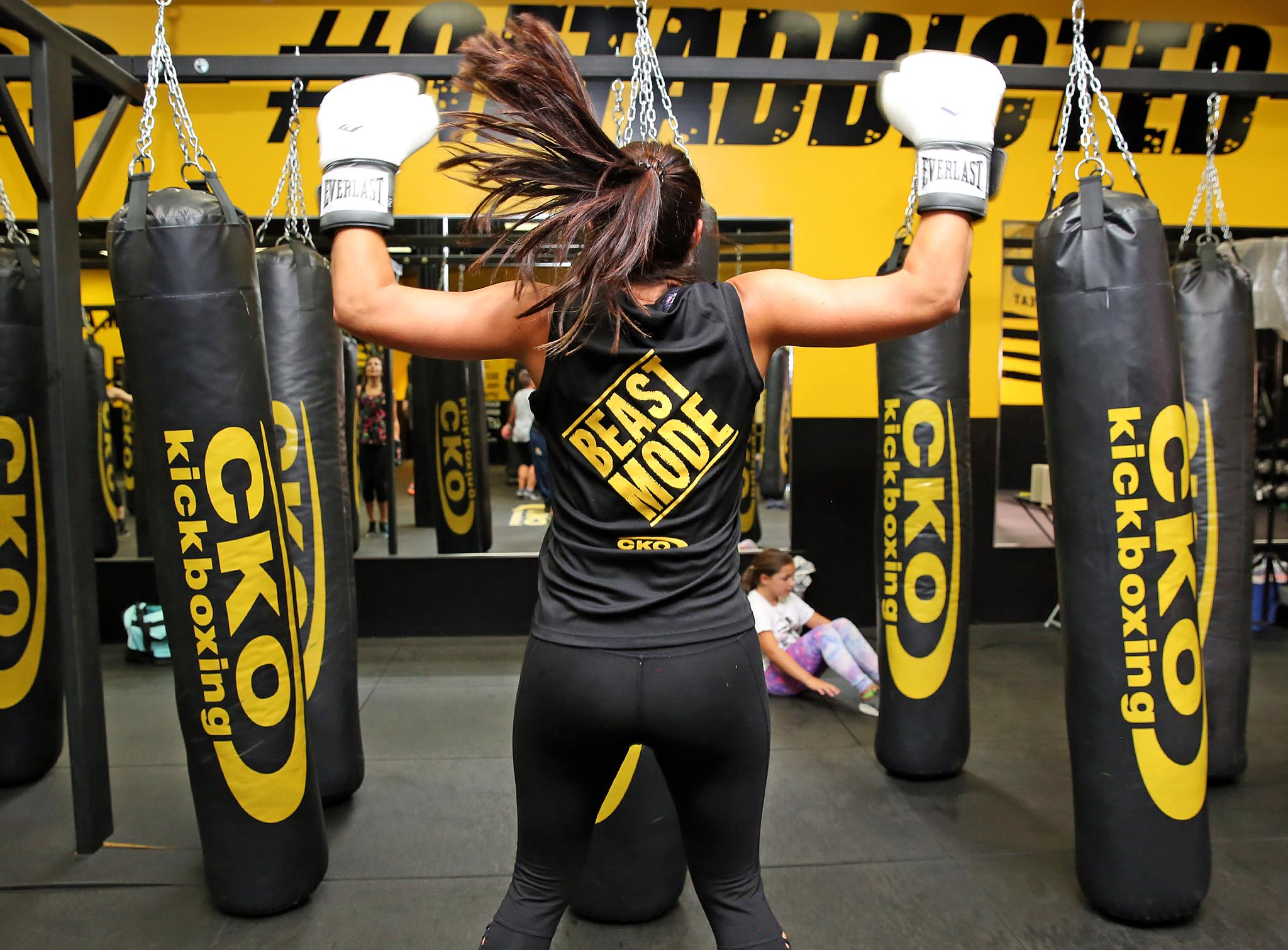 CKO Kickboxing - at CKO Kickboxing, get ready to burn fat, reduce stress and tone up by punching and kicking real heavy bags. Fitness Kickboxing is the number one fat-burning, cardio exercise, with up to 1,200 calories burned during a one hour class.At CKO Kickboxing, REAL PEOPLE use REAL HEAVY BAGS to get REAL RESULTS.