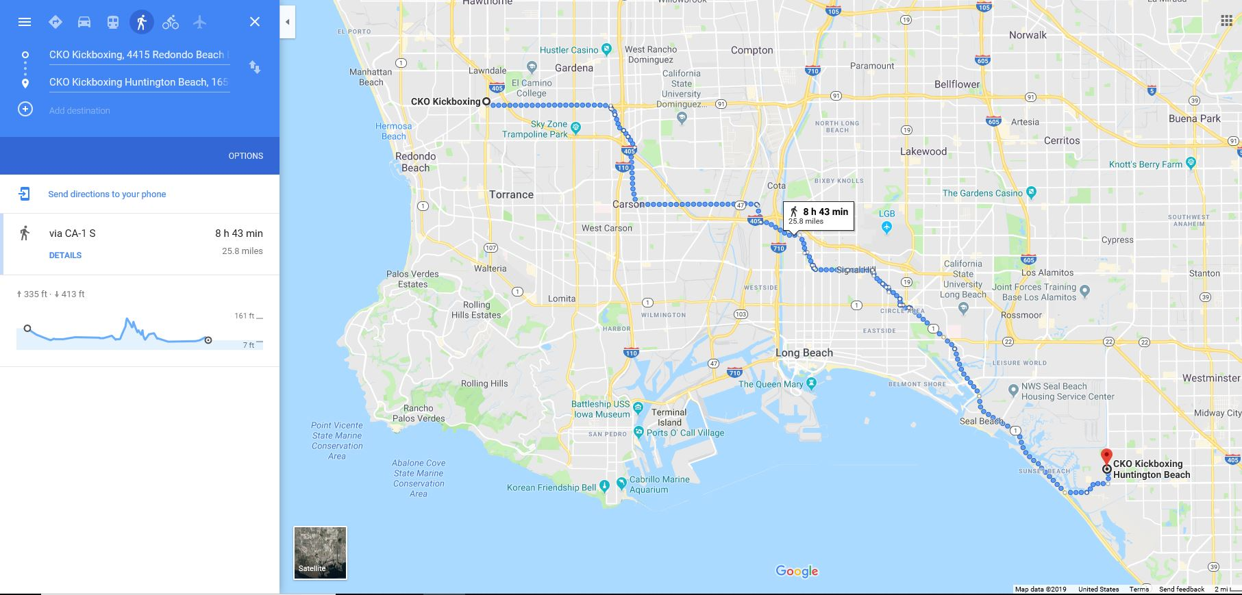 26 Mile Run & Virtual Run Day - checkpoints830am cko south bay kickboxing class (gloves required)10am CKO South Bay -run4pm CKO Huntington Beach (interview)all day Virtual run-1 mile to 26 miles (see bottom of page for directions)