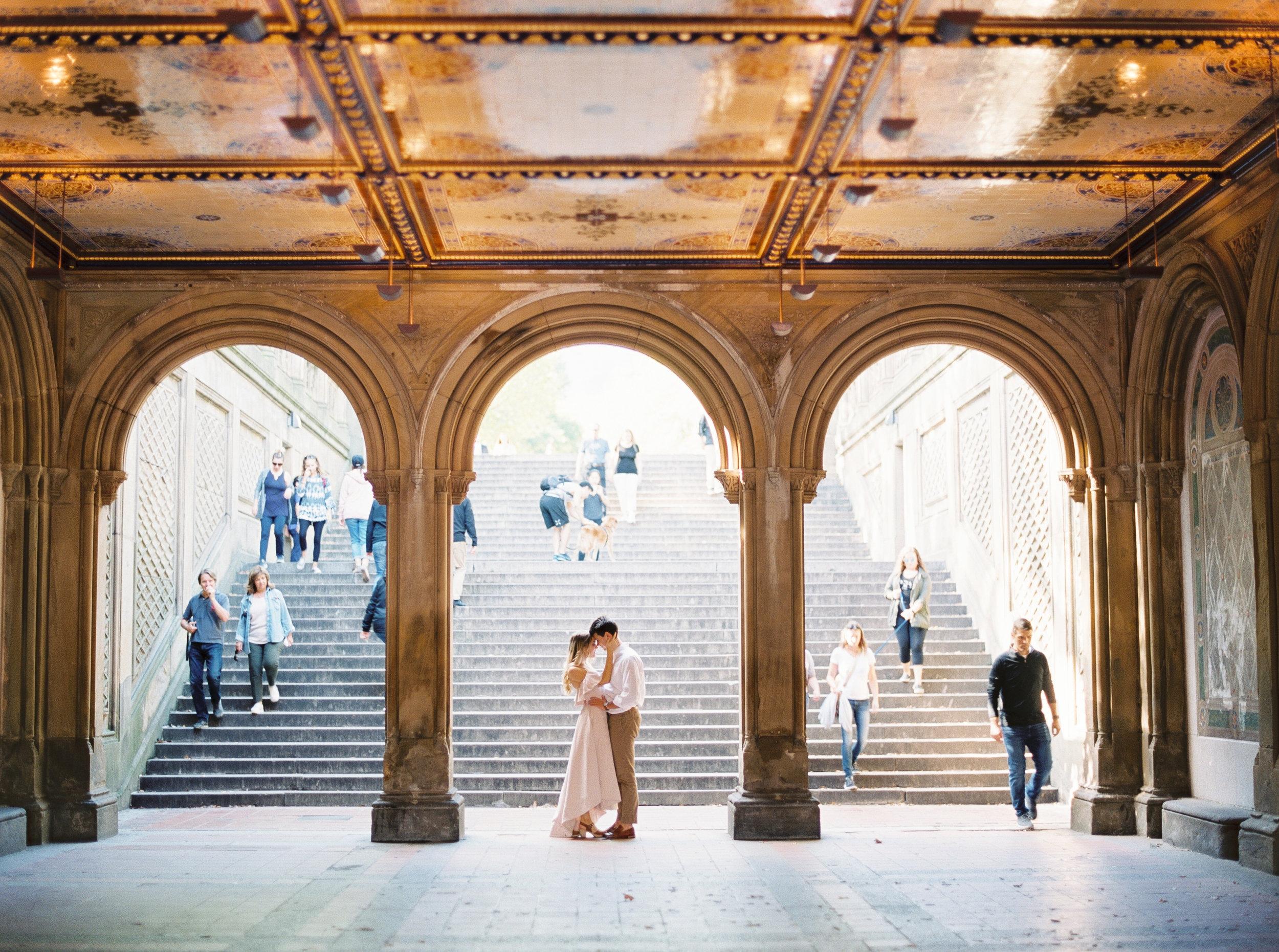 Central Park, NYC fine art engagement