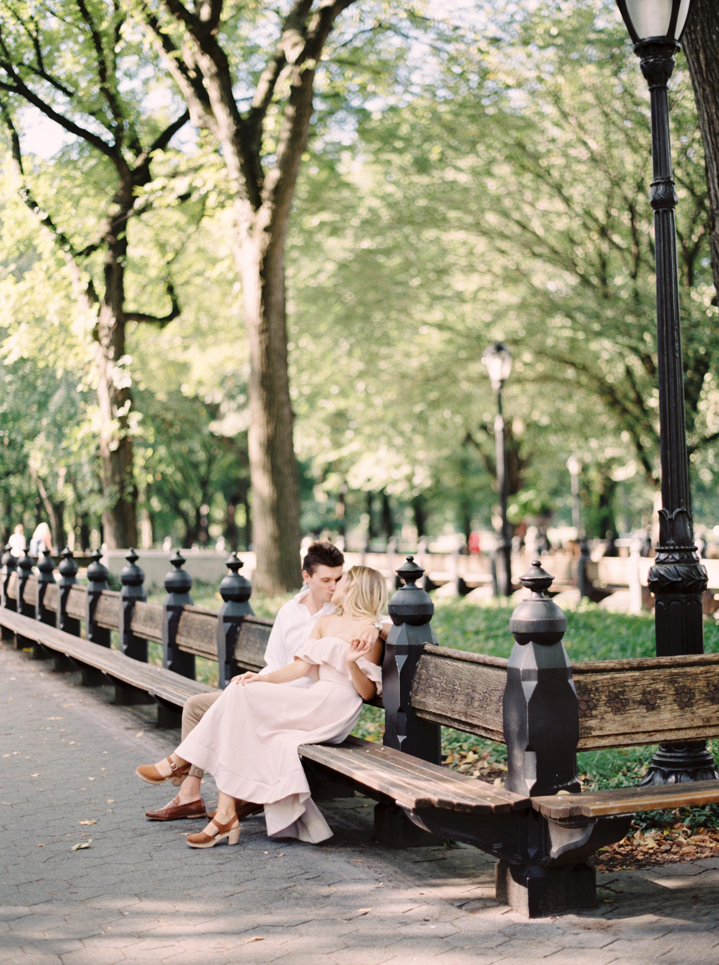 Central Park fine Art engagement