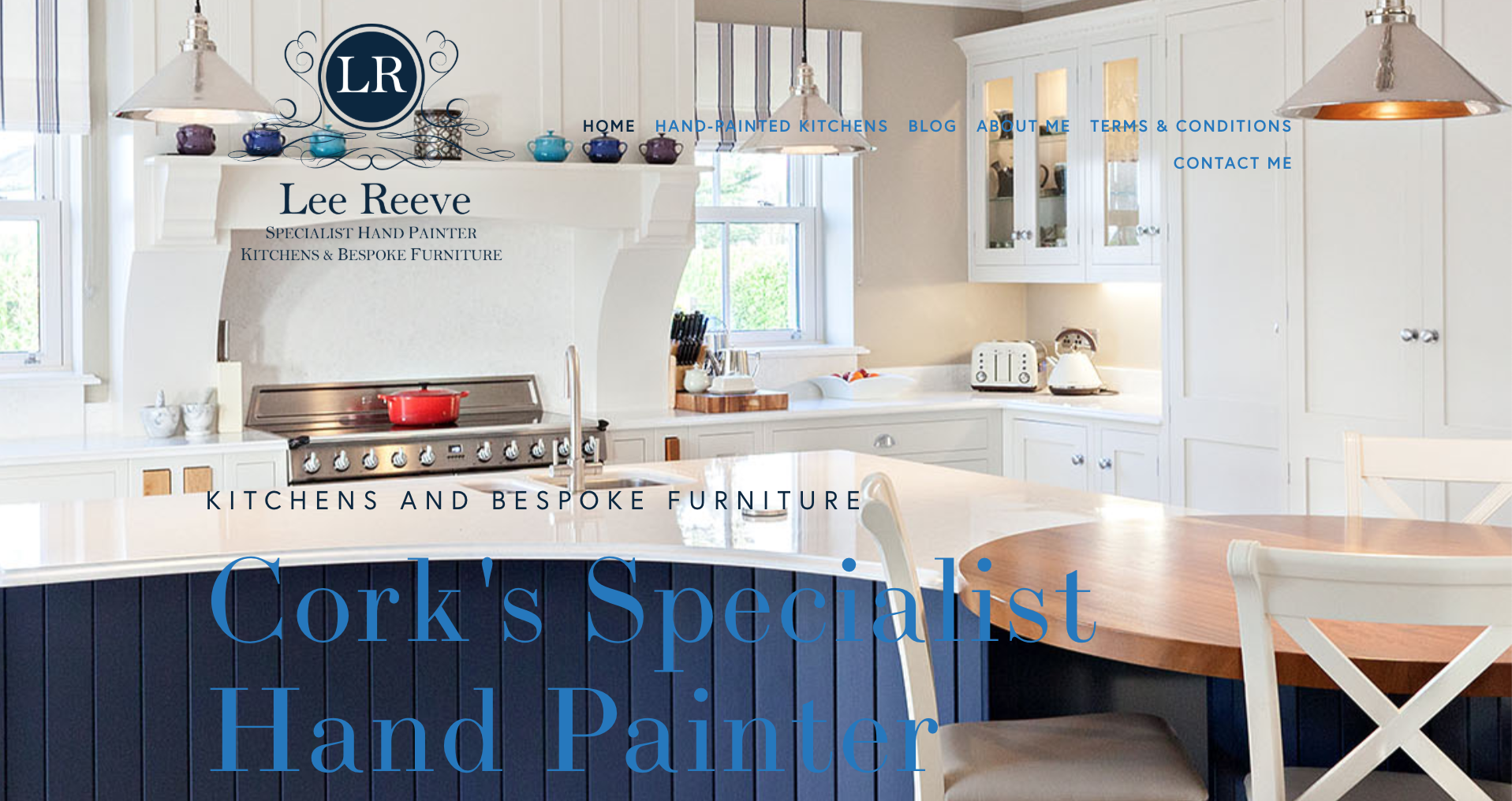 Lee Reeve—Specialist Hand Painter of Kitchens and Bespoke Furniture