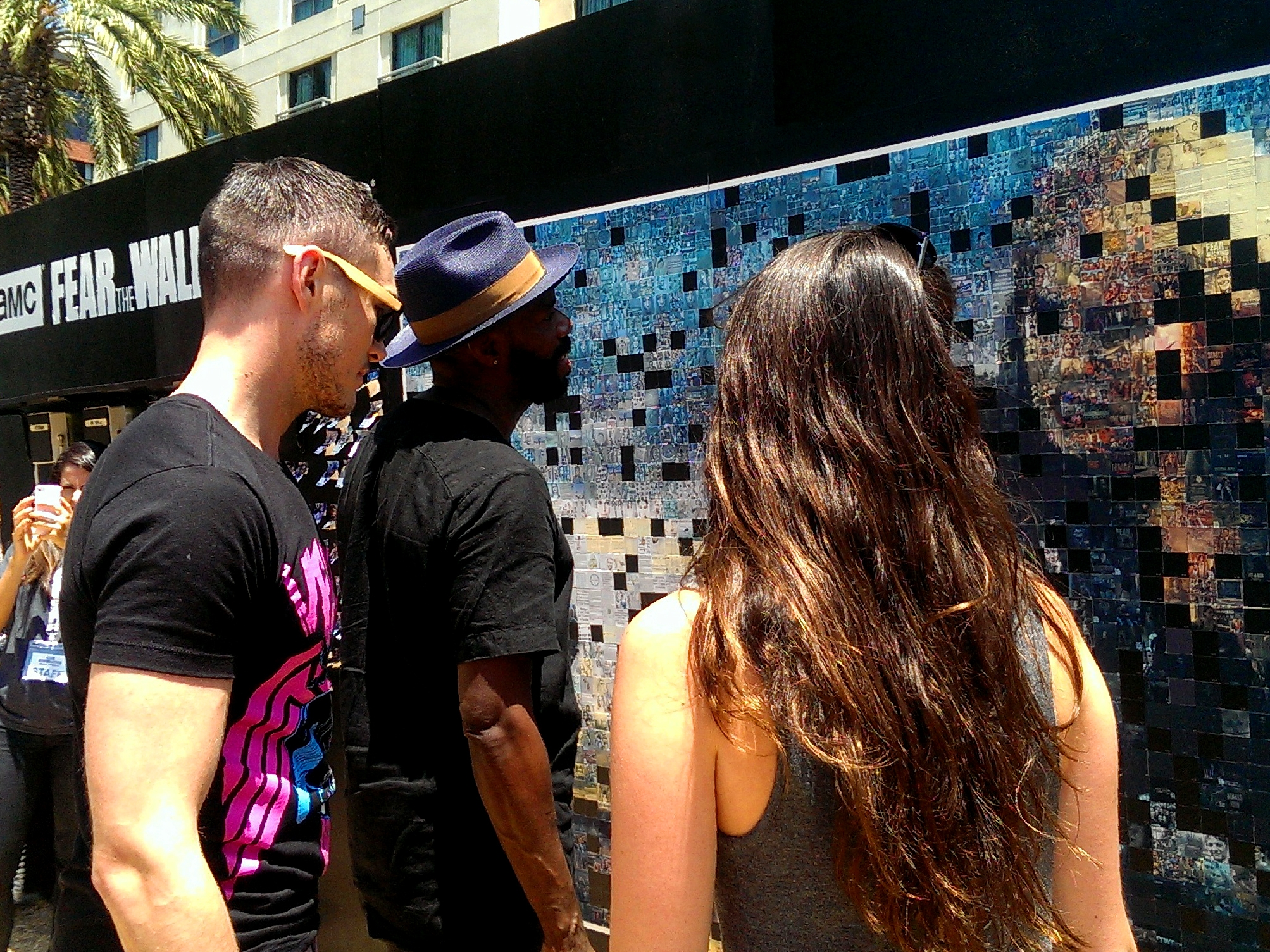 Hashtag Mosaics - Billboard-sized works of art created by your guests in real-time using your event's hashtag.