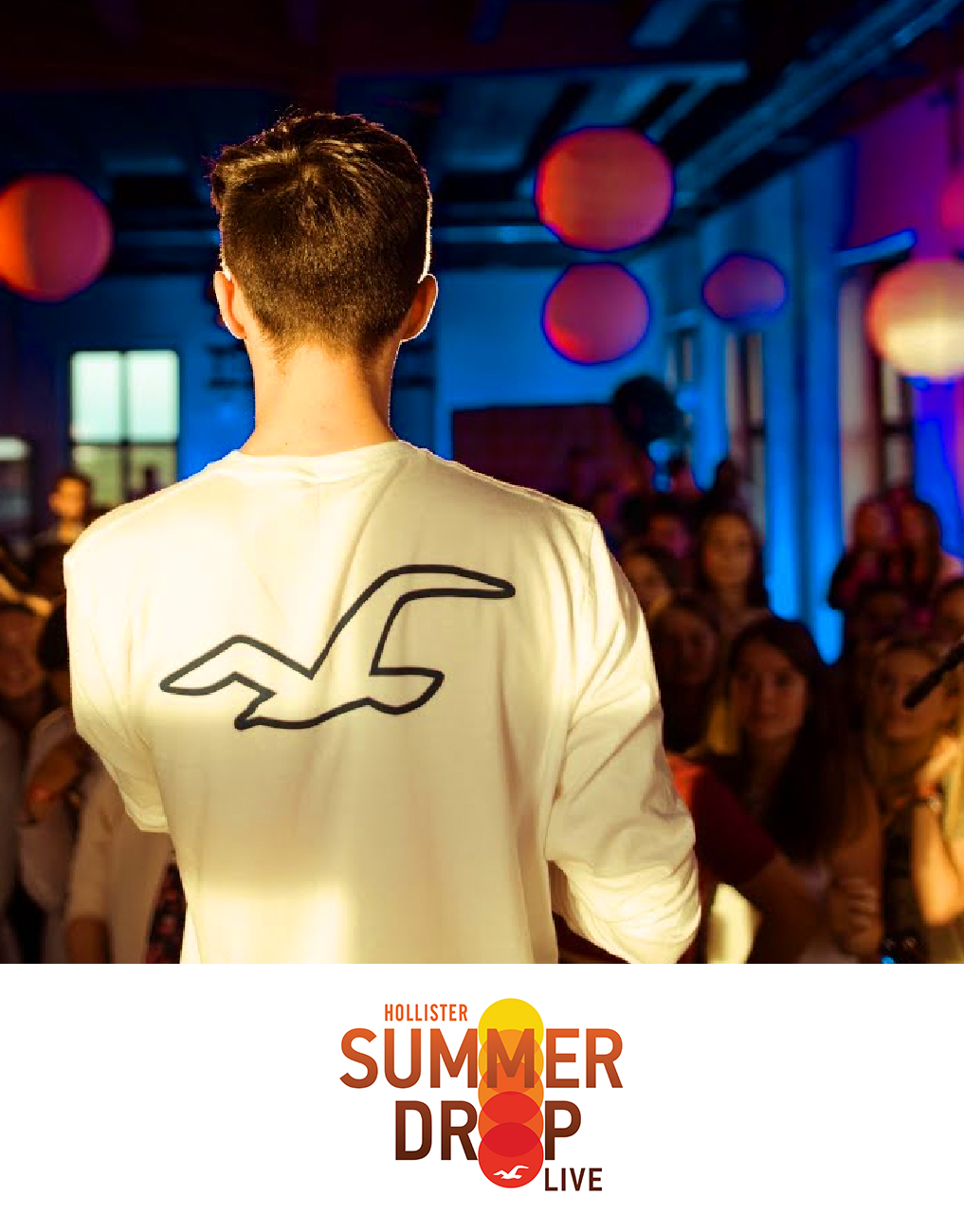 Luster Hashtag Printers - Hollister Summer Drop Live