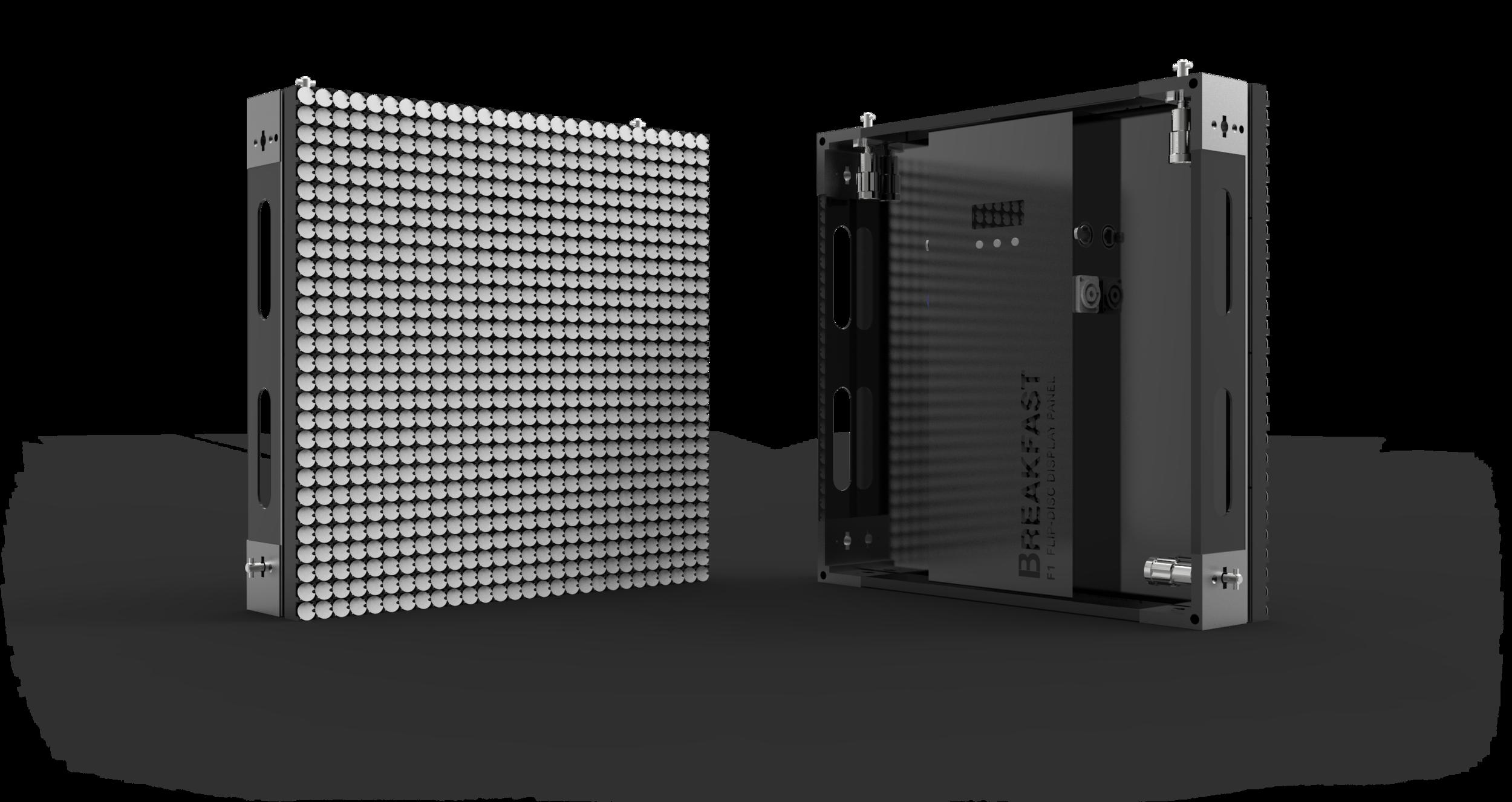 Modular panels Flip-Disc Display