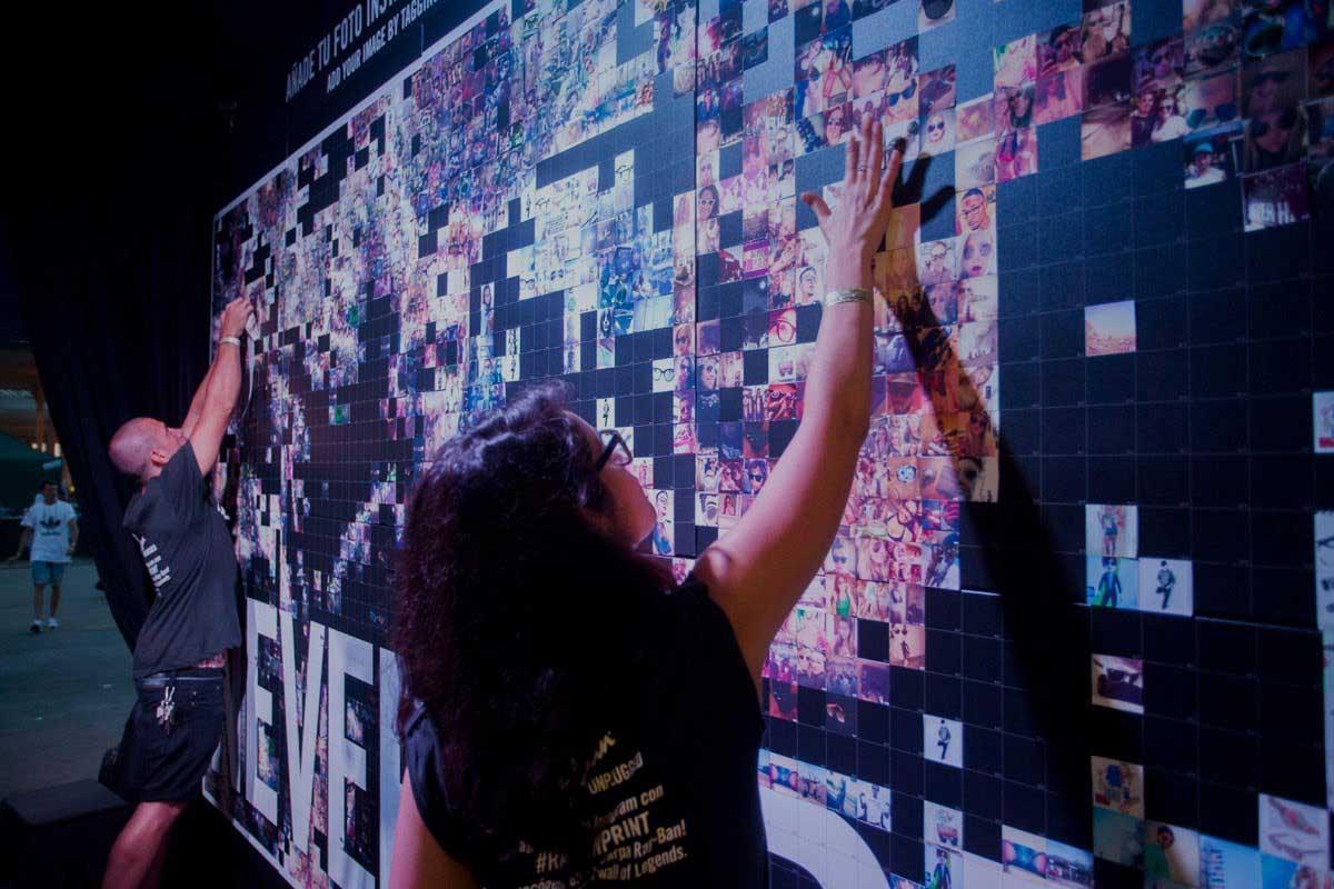 Luster - Hashtag Mosaics