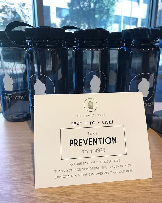 Good news! If you can't make it to A Night to Reclaim tonight-you can still invest! Text PREVENTION to 444-999 and you can set it all up! You will still be entered in the Bose Speaker Giveaway too. ✌🏼 Invest in your community and the prevention of sex trafficking. It's up to us to change this. 👌🏼
