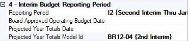 Fiscal51, 2nd Interim Reporting