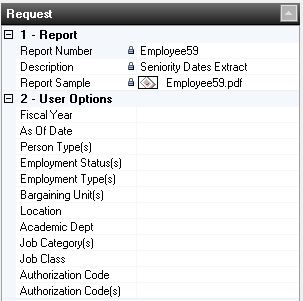 Seniority Date Extract Filters
