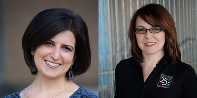 Arin Simonyan, Budget SME, and Jacque Eischens, Finance Support Manager