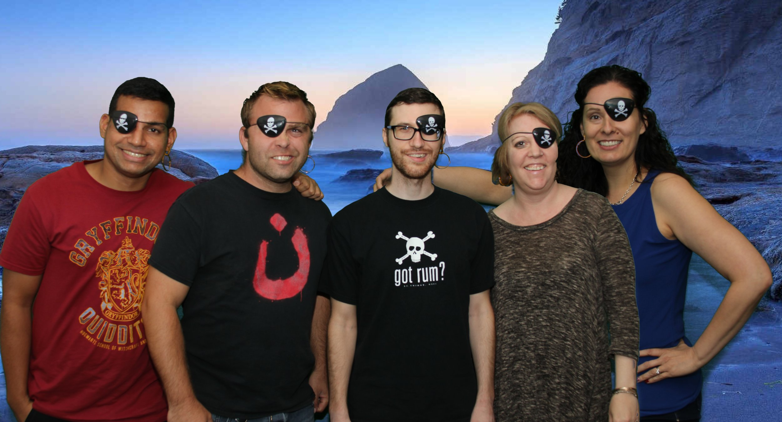 Left to right: Vijay, Tim, Brian, Lora and Ginny