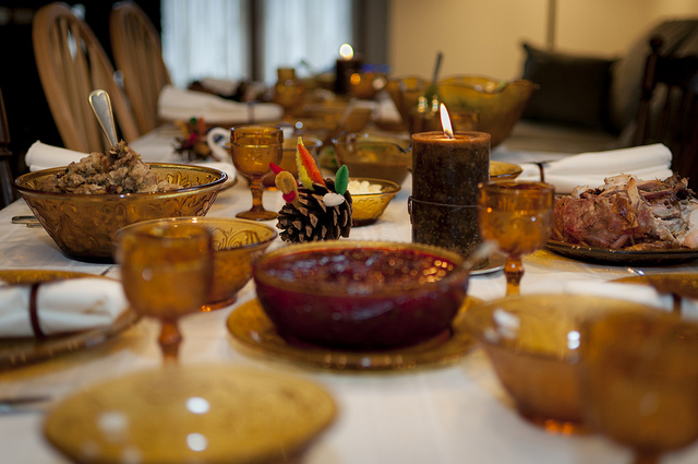 """"""" Thanksgiving Table """" by  vxla  used with  CCLicense2.0"""