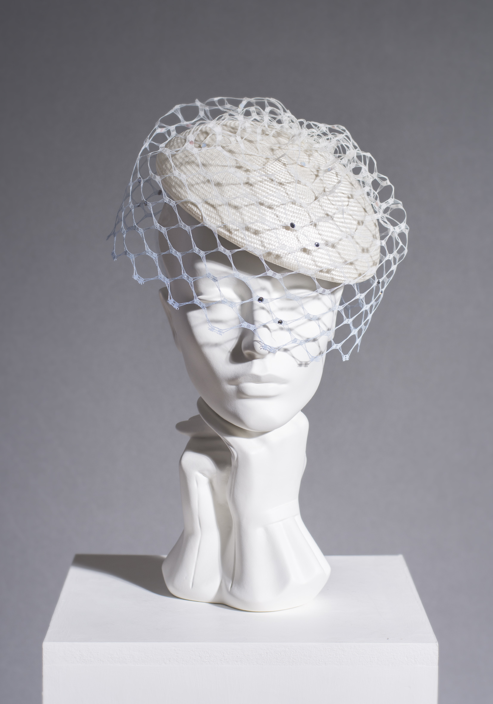 SS16/15 OMBRE VEILED BERET