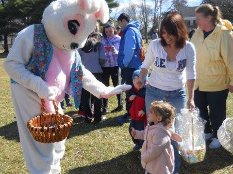 Kids of all ages had fun meeting the Easter Bunny at this year's Egg Hunt.