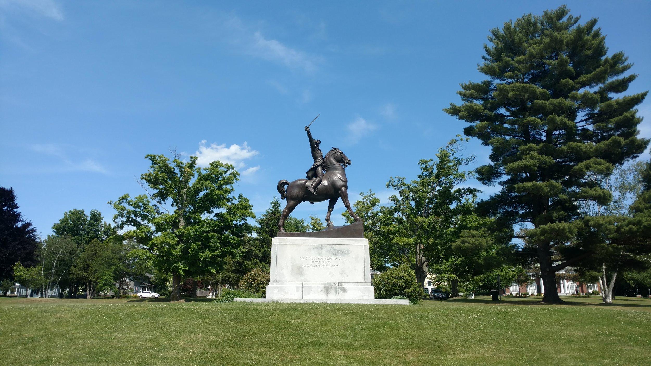 Stark Park Equestrian Statue - Summer.jpg
