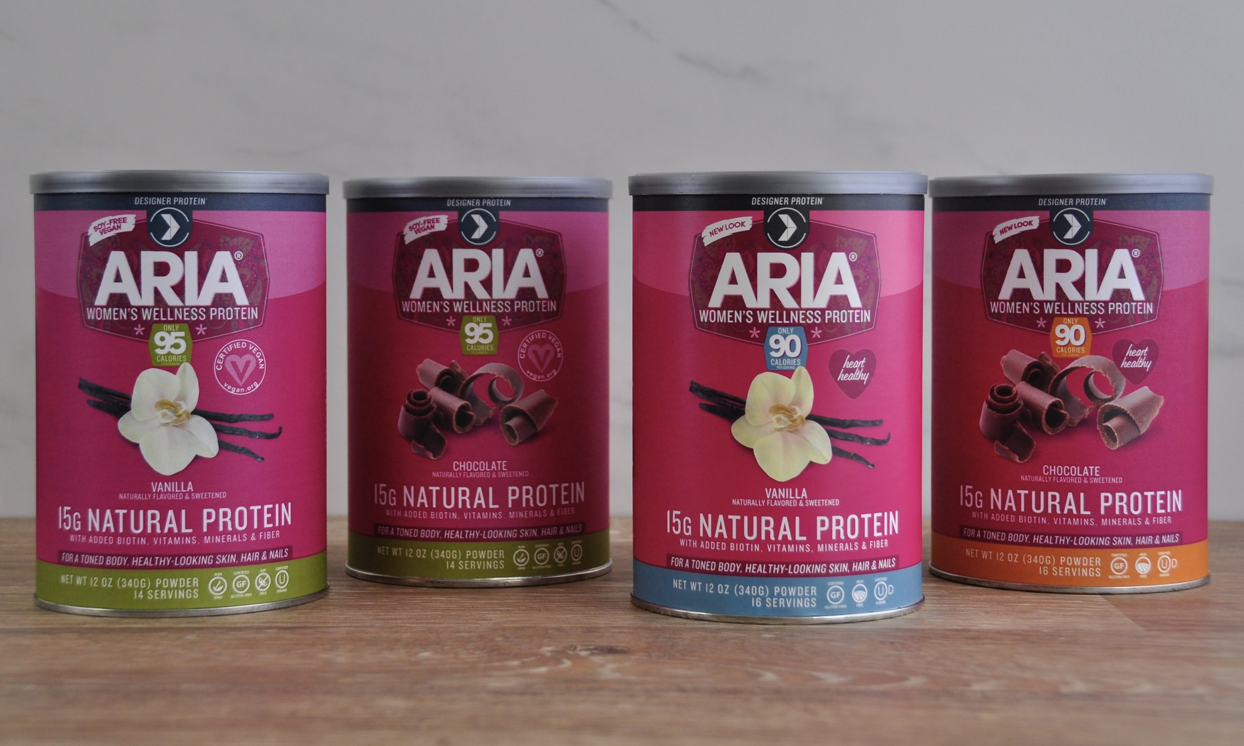 Aria protein family - in charge of designing back and nutritional panel layouts.