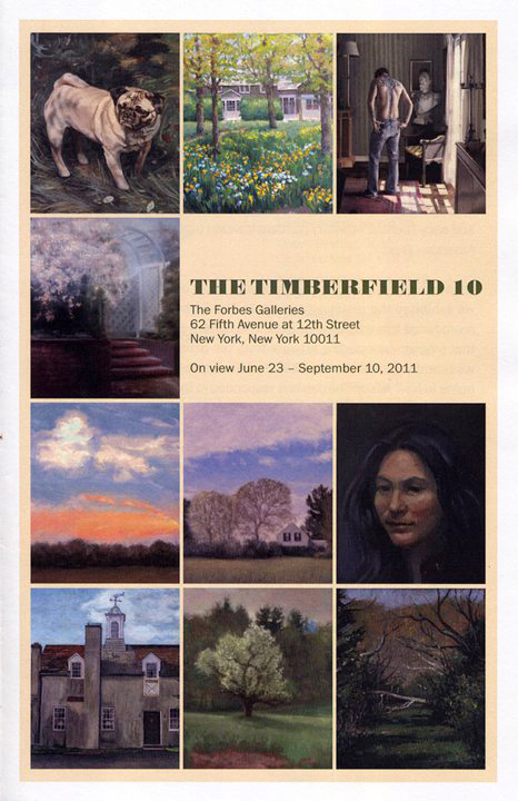 The Timberfield 10    June 23rd to Sept. 10th    The Forbes Gallery  62 Fifth Avenue near 12th Street Opening Reception is Thursday, June 30th, from 6-8PM   Related Links:    http://www.edterpening.com/blog2/wordpress/?p=1076     http://www.jahnstudios.com/wp-content/gallery/newest-works/audience_with_the_emperor.jpg