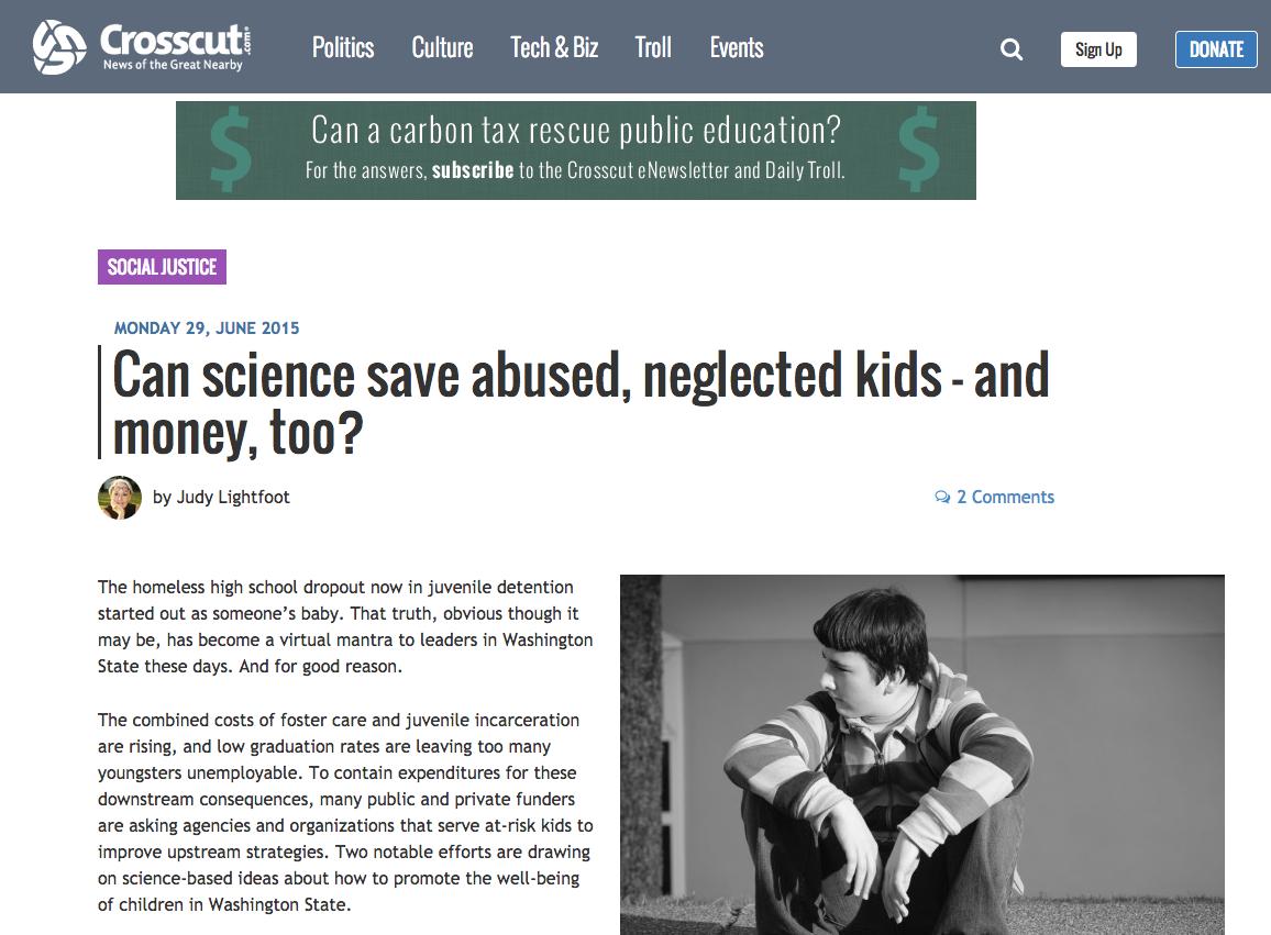 June 29 Crosscut article by Judy Lightfoot
