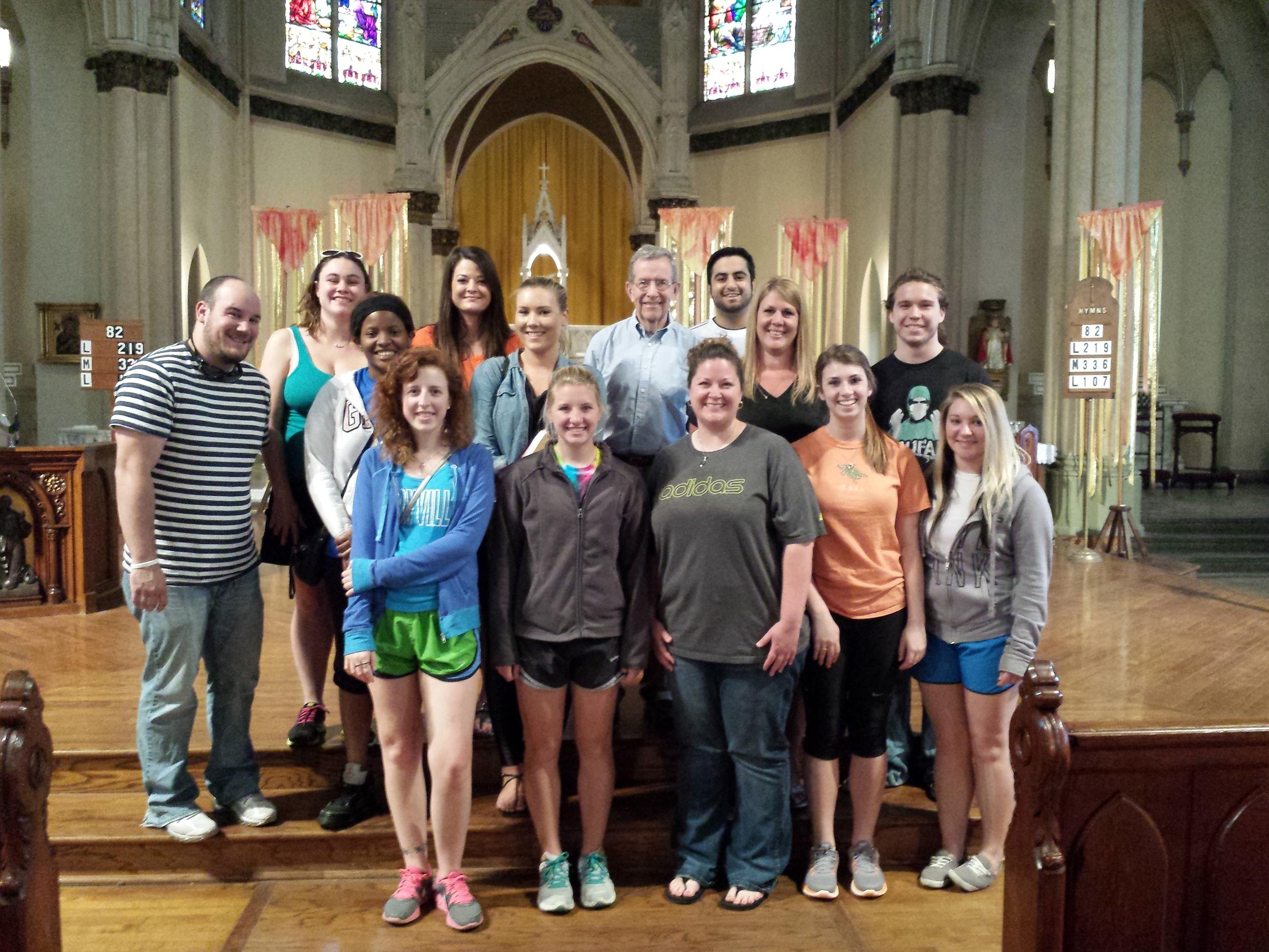 Maryville Students Visit MHT 2014.jpg