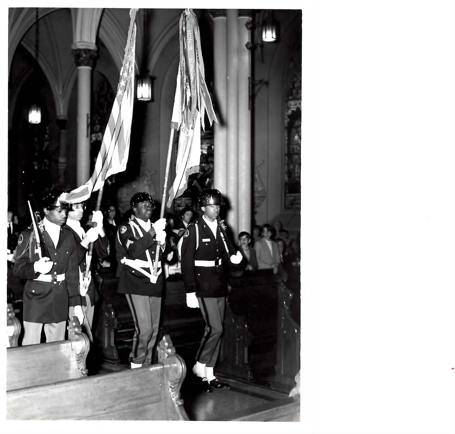 1955  Honor Guard Procession
