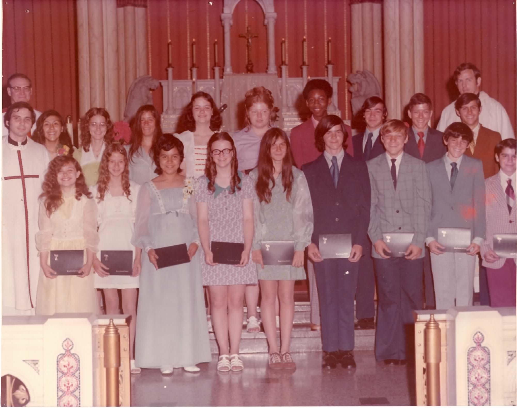 1973  Eighth Grade Graduation