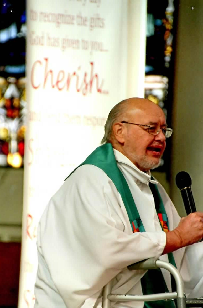 Father Richard Creason, Most Holy Trinity's most recent pastor