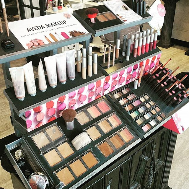 Our makeup artists are here to enhance your glow for any occasion. Come check out our updated Aveda counter. ❤️