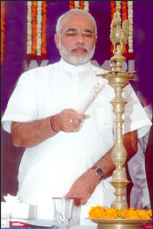 Mr.Modi was elected Prime Minister in 2014