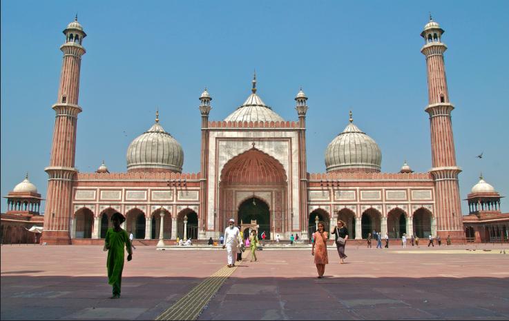 Mosque in New Delhi