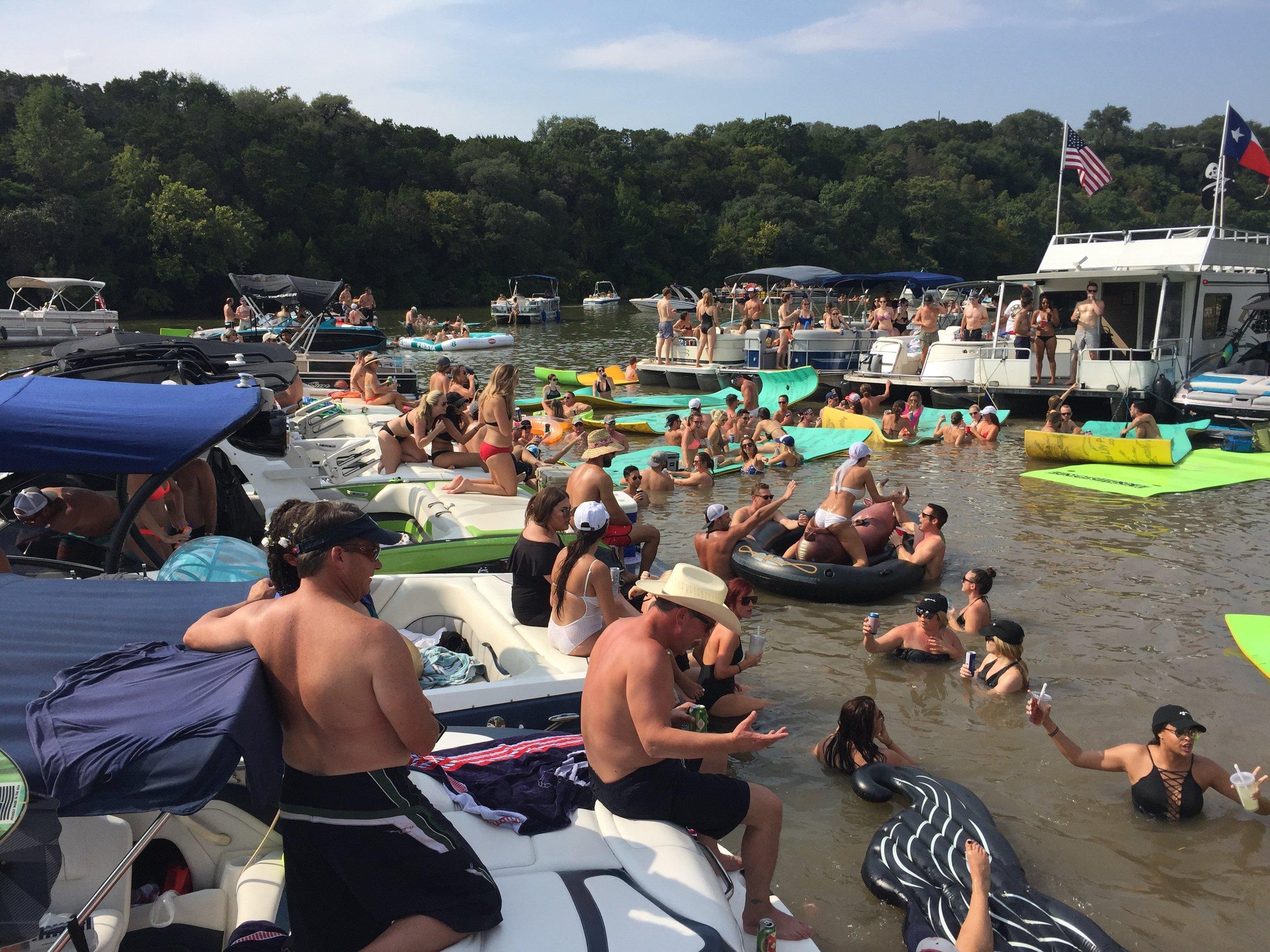 Lake Austin Party